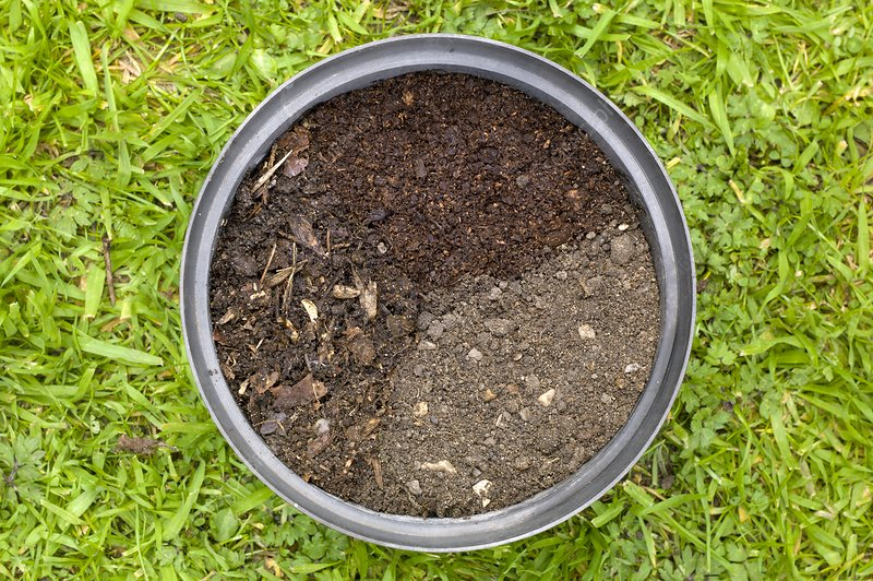 Properties of three different composts