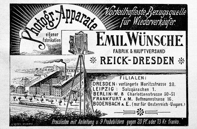 Photographic equipment advert