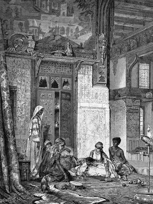Harem, 19th century artwork