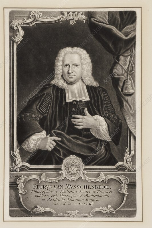 Pieter van Musschenbroek, Dutch scientist