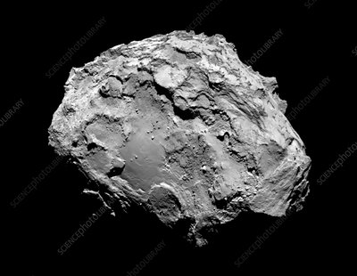 Comet Churyumov-Gerasimenko from Rosetta