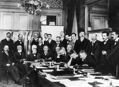 First Solvay Congress, Brussels, 1911