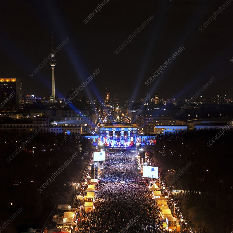 New Year's Eve, Berlin, Germany, 2013