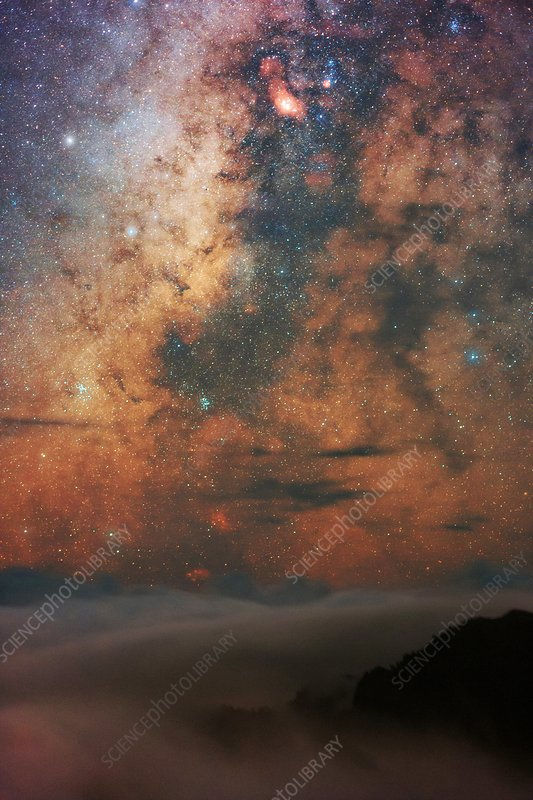 Milky Way and Sagittarius