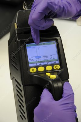 Portable chemical detector