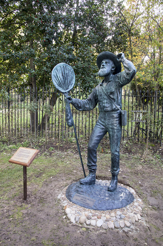 Alfred Russel Wallace statue