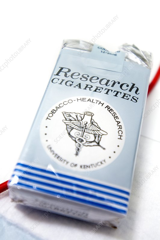 Research cigarettes
