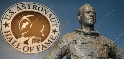 Statue of US astronaut Alan Shepard