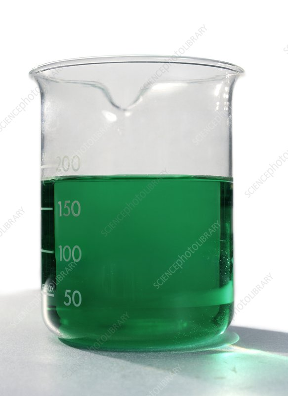 Diffusion of nickel sulphate solution