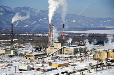 Baikal Pulp and Paper Mill, Russia