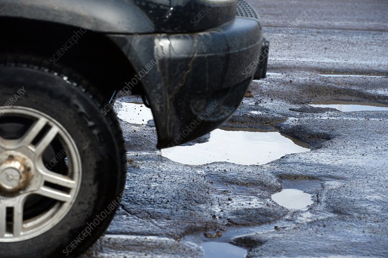 Potholes and puddles