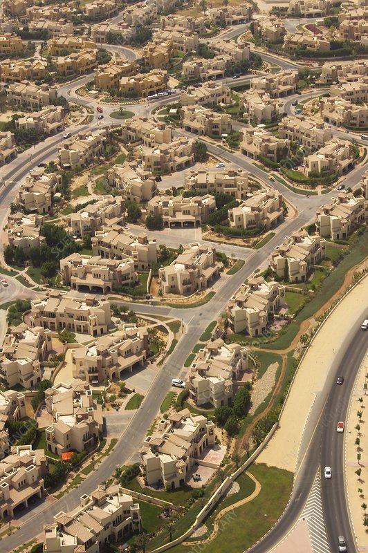 Desert homes near Dubai.