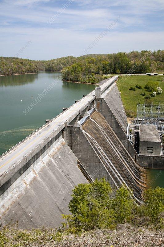 Norris dam and reservoir