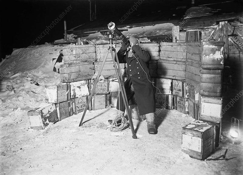 Antarctic expedition astronomy, 1911