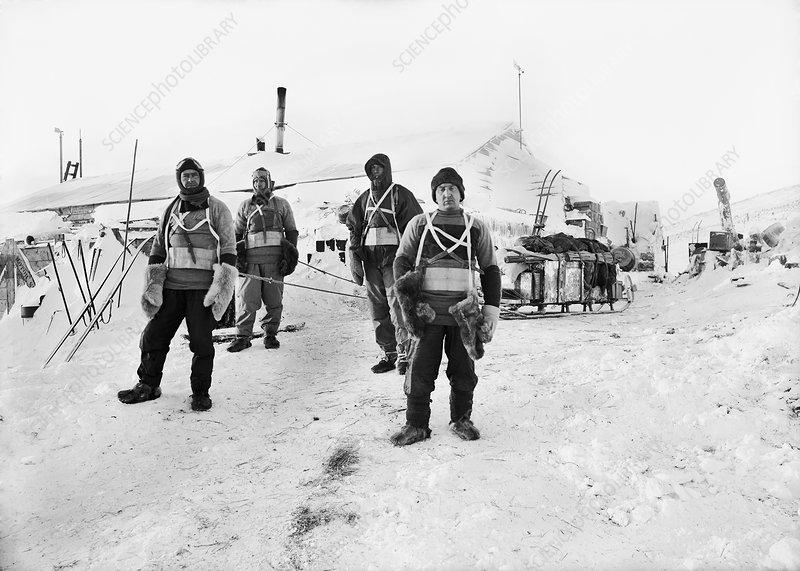 Terra Nova Antarctic exploration, 1911