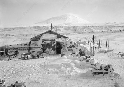 Terra Nova Antarctic winter hut, 1911