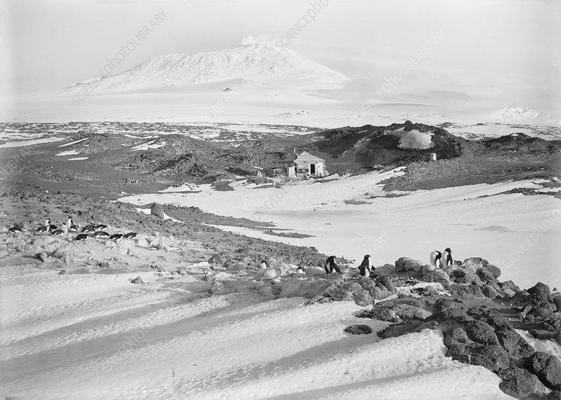 Shackleton's hut in the Antarctic, 1911