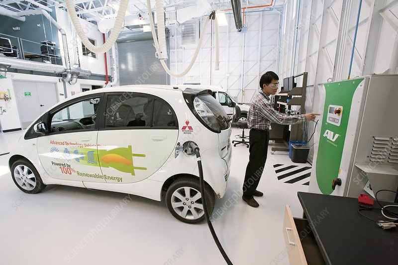 Testing electric vehicles