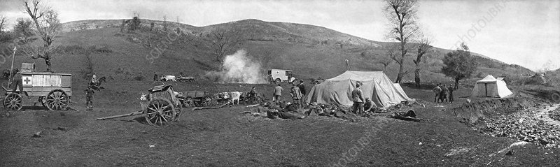 Field hospital, World War I
