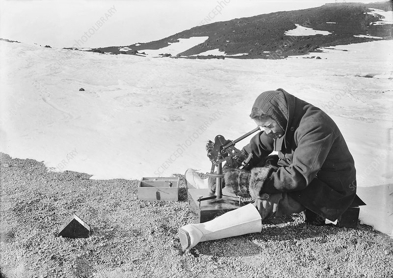 Antarctic navigation observations, 1911