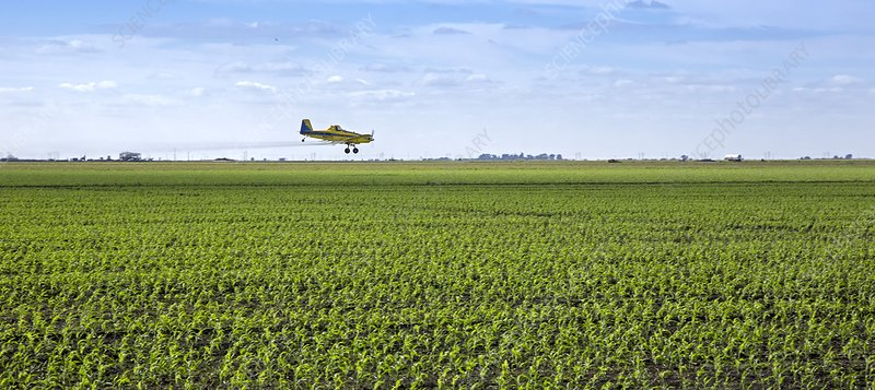 Crop dusting, USA