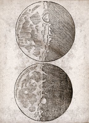 Galileo's Moon observations, 1610