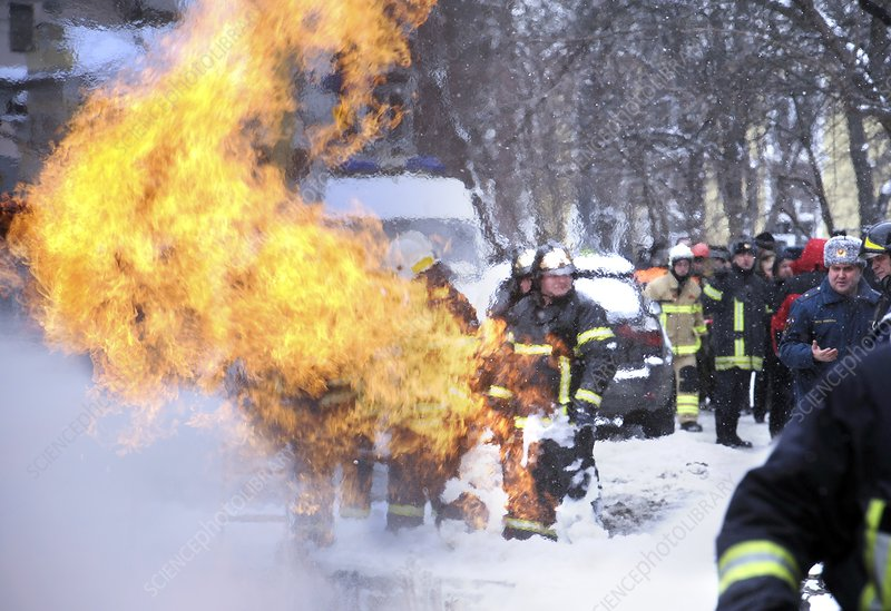 Gas pipeline rupture, Russia