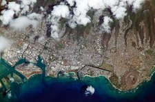 Honolulu, Hawaii, ISS image