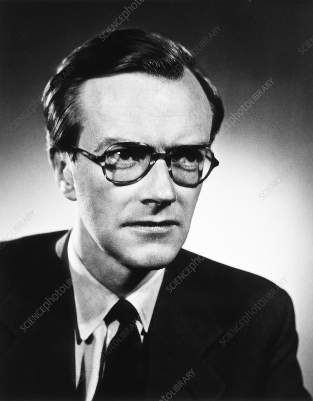 Maurice Wilkins, British physicist