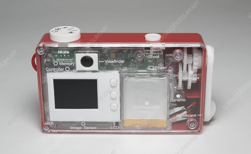 Bigshot self-assembly digital camera