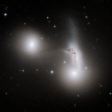 Interacting galaxies in HCG 90, HST image