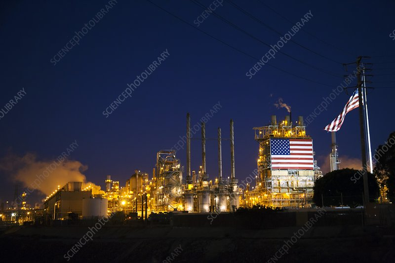 Oil Refinery, California, USA - Stock Image C021\/9297 - Science Photo ...