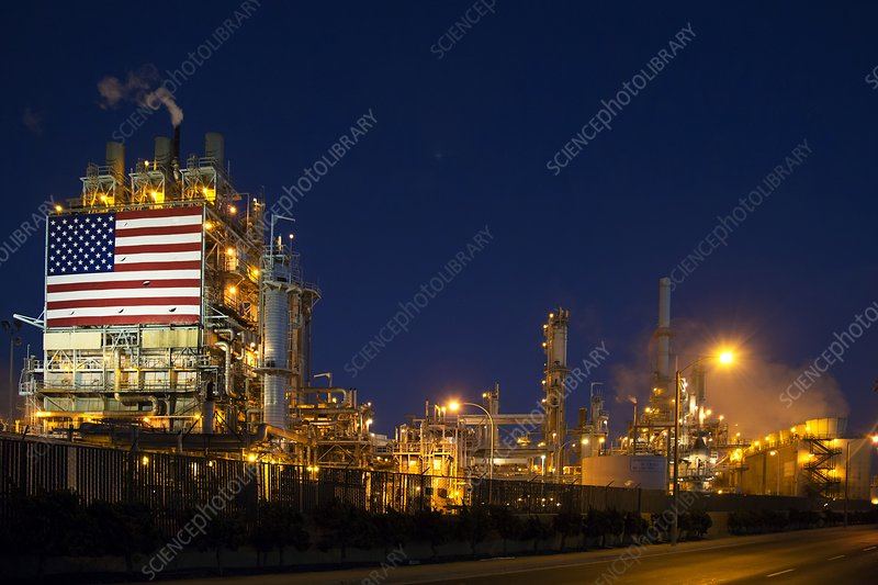 Oil Refinery, California, USA