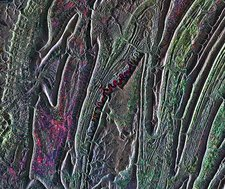 Raystown Lake, USA, satellite image
