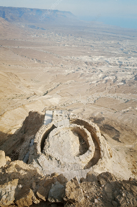 Ruins of King Herod's Palace