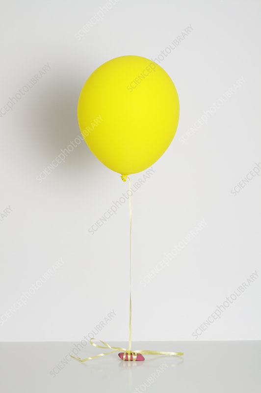 Balloon filled with helium