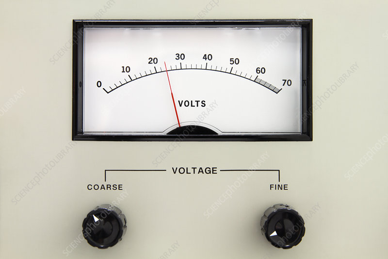 Analogue voltage indicator