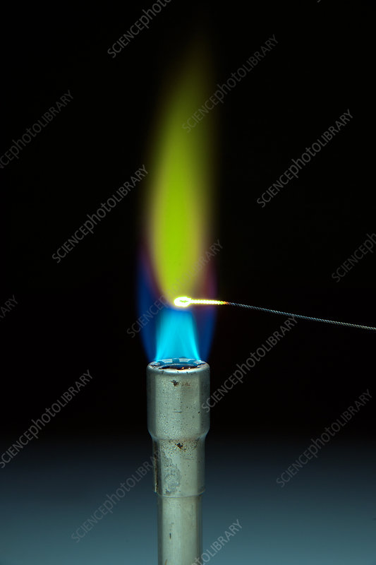 Nickel ll Chloride Flame Test