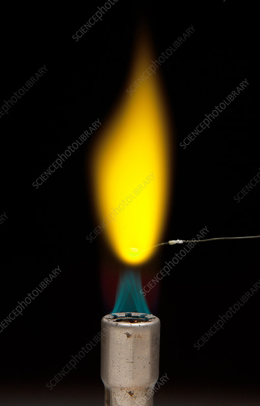 Sodium Chloride Flame Test