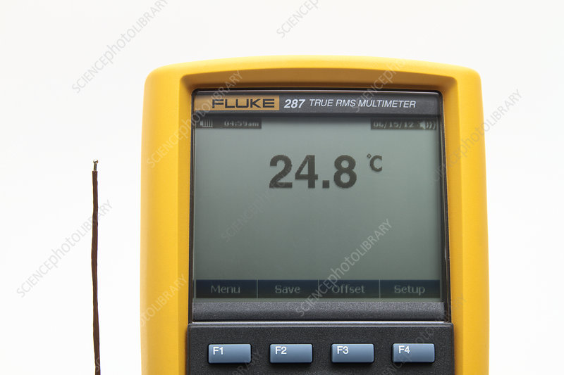 Thermocouple, Measuring Air Temperature
