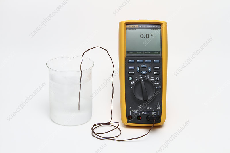 Thermocouple, Measuring Water Temperature