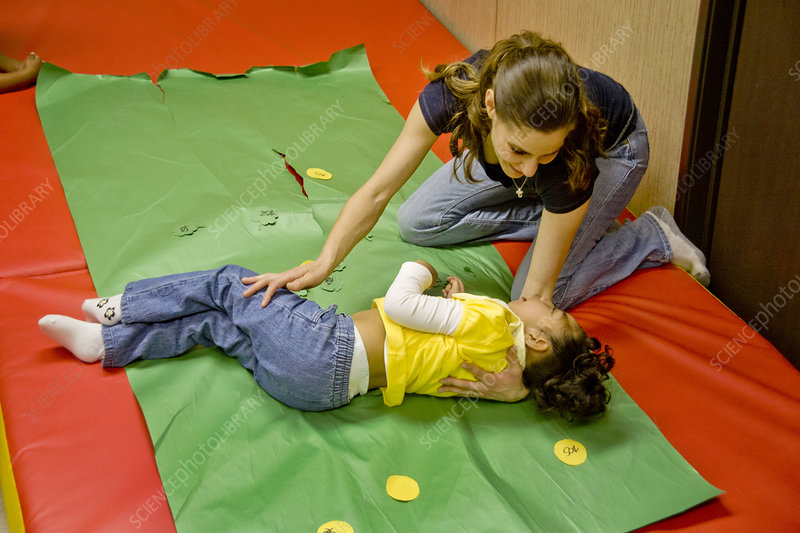 Physiotherapy for Vision-Impaired Child