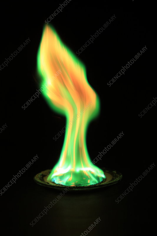 Copper(II) Chloride Flame Test