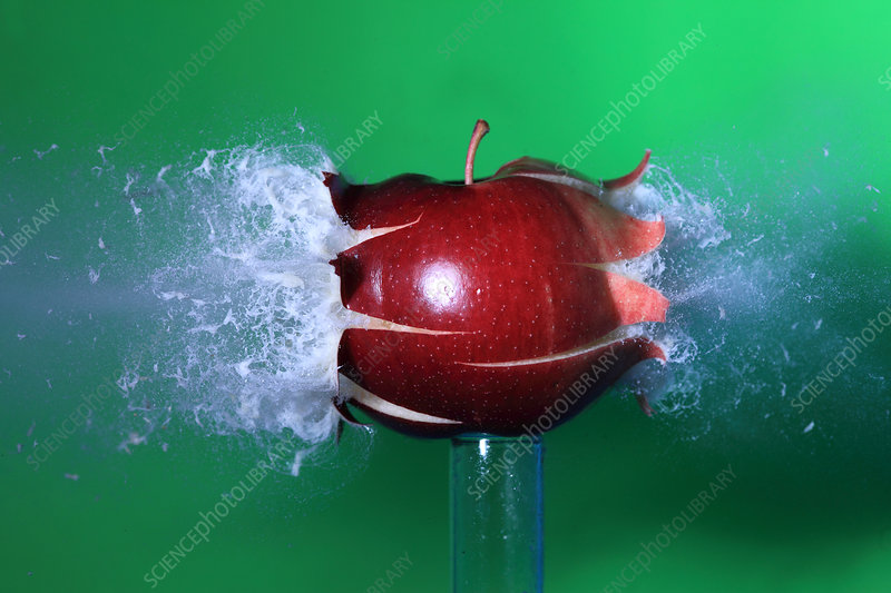 Bullet Hitting an Apple