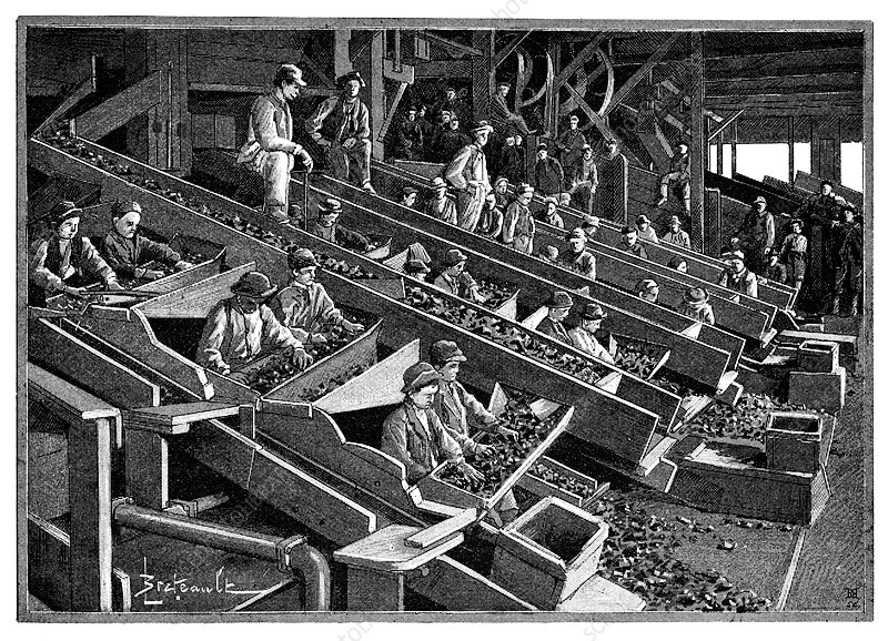 Anthracite coal industry, 19th century