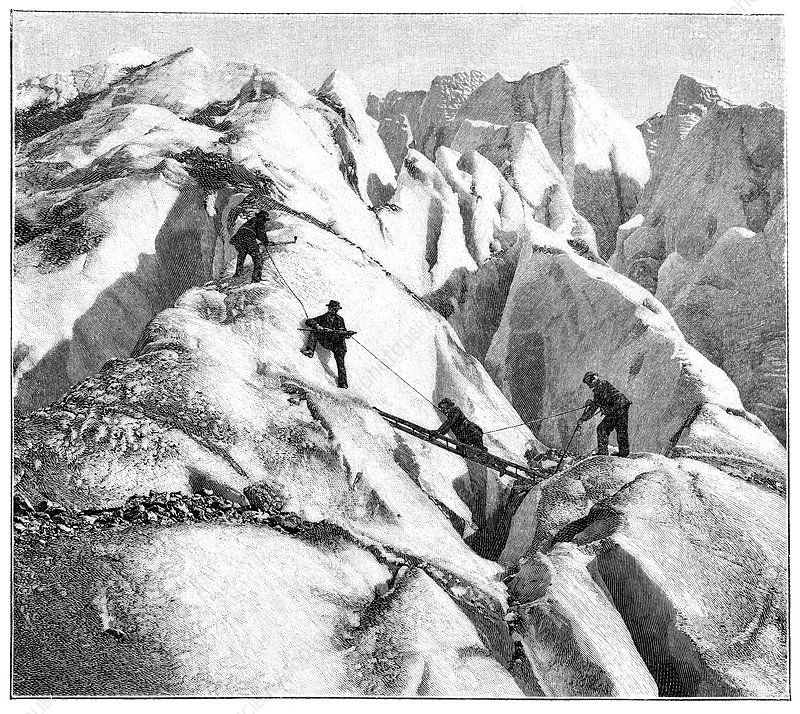 Ascent of Mont Blanc, 19th century