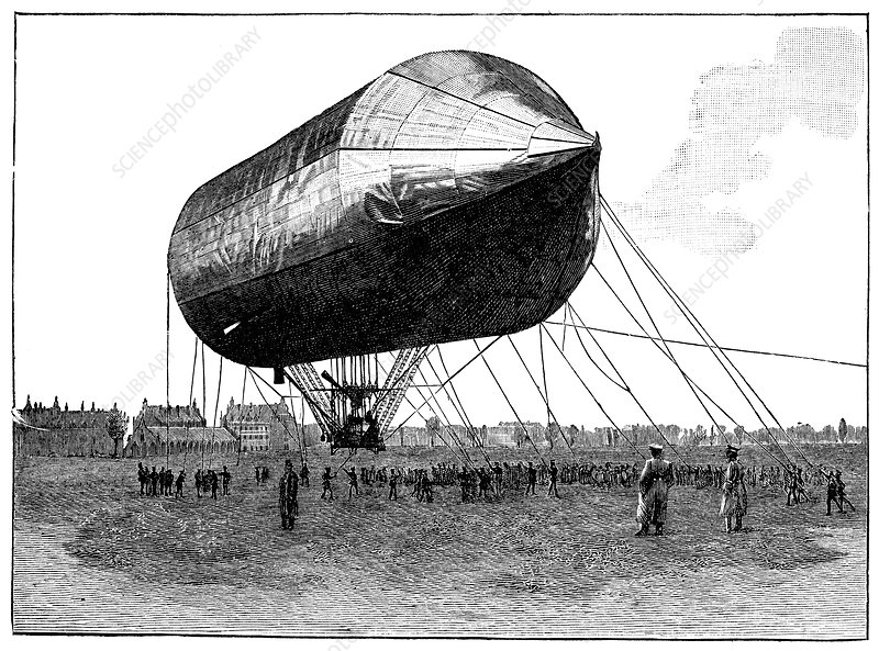German military airship, 19th century