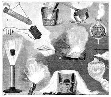 Liquid air experiments, 19th century