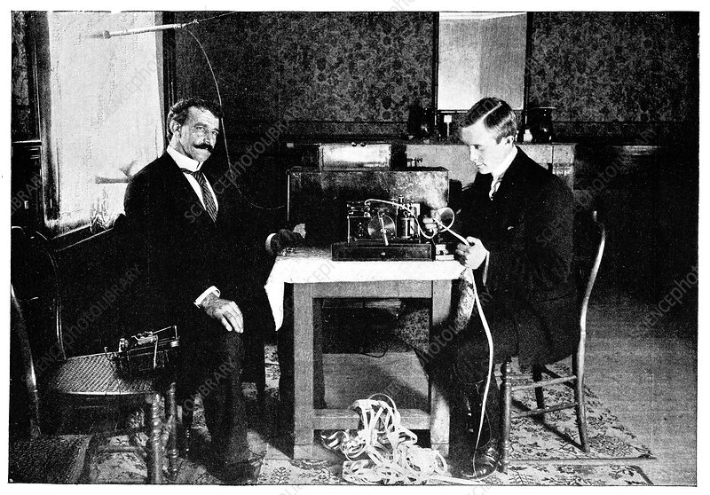 Marconi and radio at South Foreland, 1898