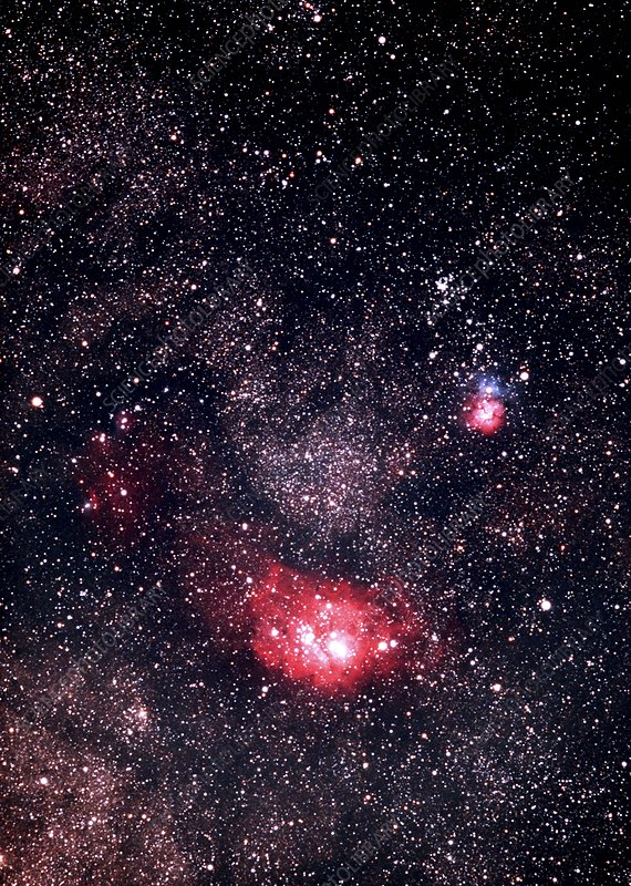 Nebulae in Sagittarius